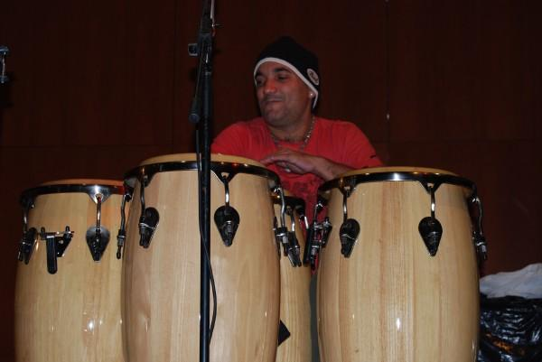 Accompanying a camper at Drum Fantasy Camp in My Photos by