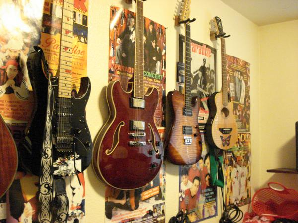 Guitar collection in My Photos by 