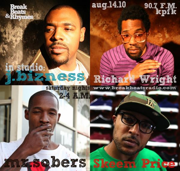 KPFK 90.7 FM / BreakBeats Radio - 08.14.10 in Event flyers... by
