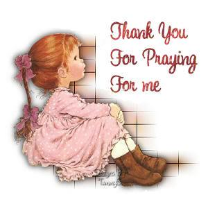 thank you 4 your prayer