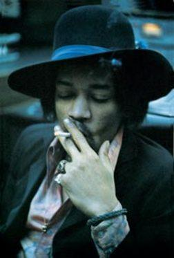 Jimi Hendrix in My Influences by