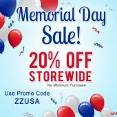 Save 20% in our Artbeads Memorial Day Sale! With no minimum purchase required this is the perfect time to stock up on all of your jewelry ma
