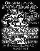 YOUR INVITED FOR A ORIGINAL METAL SHOWDOWN AT THE NO NAME SALOON ... COME OUT AND SUPPORT LOCAL MUSIC , ITS A FREE EVENT SO COME OUT AND ROC