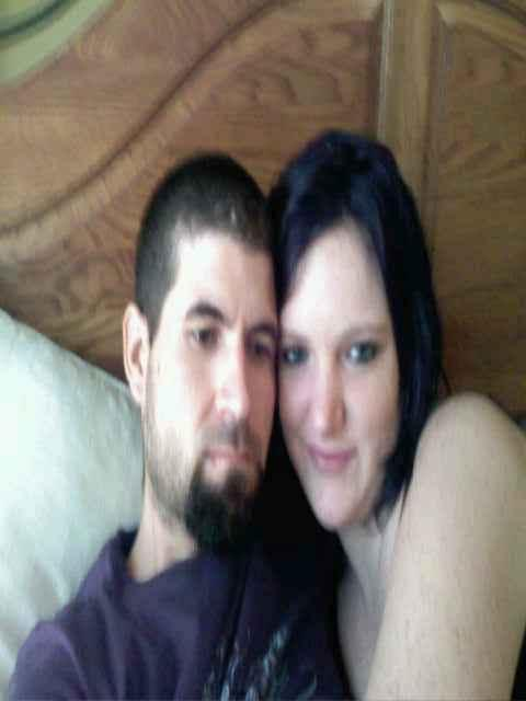 Us b4 we went to sleep :) in Me and my baby! by Leslie Ake