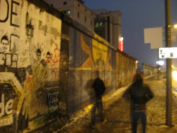 Berlin Wall in Europe/UK 2009 by