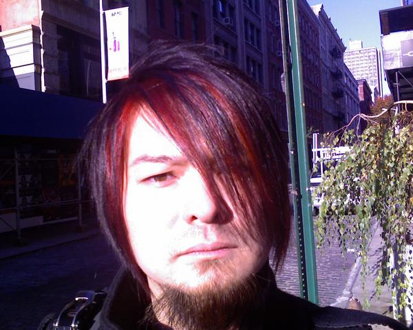 Hungover from a night of sake in SoHo.