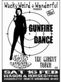 Gunfire Dance+Velvet Texas Cannonball+The Mighty Young