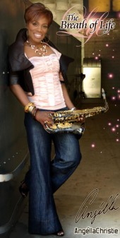 Photo of Gospel Saxophonist Angella Christie